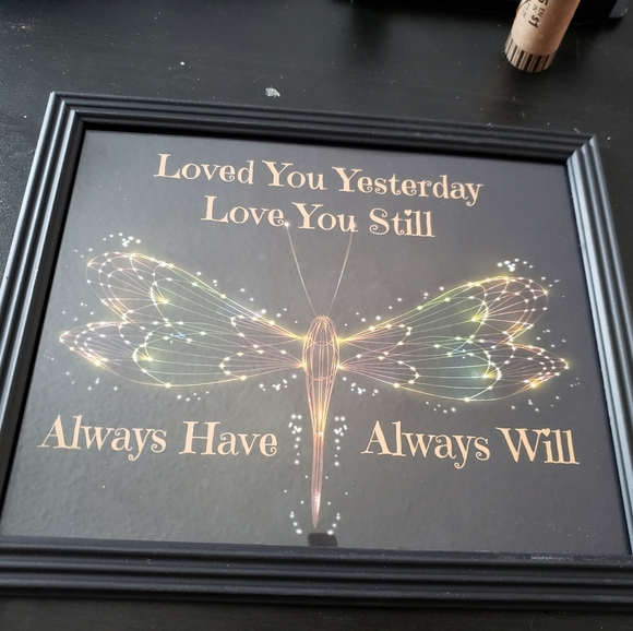 🎄2 for 1 🎄 dragonfly quote art portrait